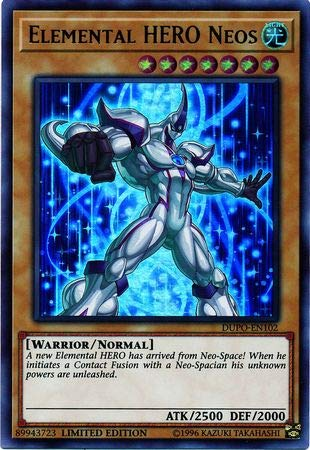 Yu-Gi-Oh! - Elemental Hero Neos - DUPO-EN102 - Ultra Rare - Limited Edition - Duel ()
