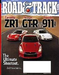 ROAD & TRACK magazine Jun 2010 Porsche 911 Turbo CORVETTE ZR1 Nissan GT-R AUDI R8 SPYDER