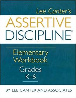 Book Assertive Discipline Elementary Workbook Grades K 6