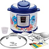 Pioneer Woman Instant Pot 6qt 6 Quart Programmable Pressure Cooker Slow Electric Multi Use Rice Saute Cooking Steamer Warmer