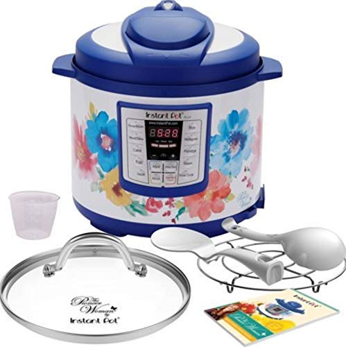 Pioneer Woman Instant Pot 6qt 6 Quart Programmable Pressure Cooker Slow Electric Multi Use Rice Saute Cooking Steamer Warmer by Home Joy (Image #10)