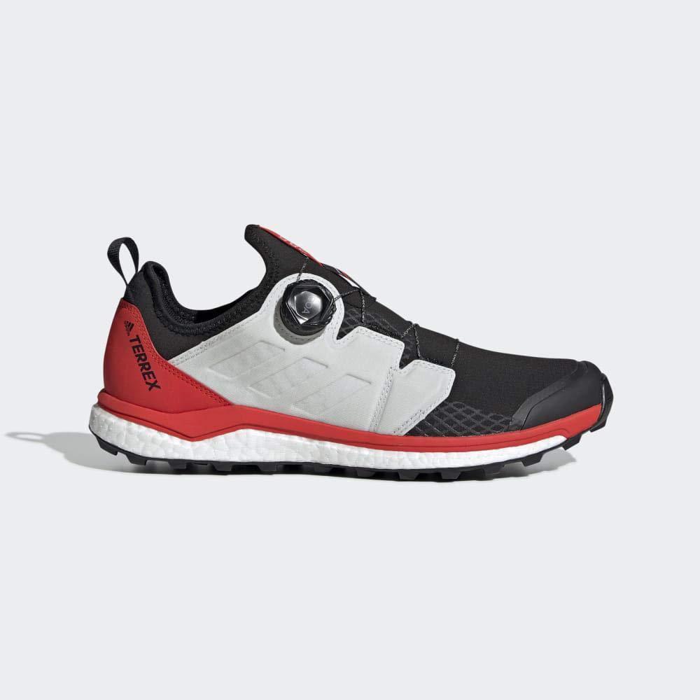 MultiCouleure (Negbás Ftw Bla Rojact 000) 42 2 3 EU adidas Terrex Agravic Boa, Chaussures d'escalade Homme