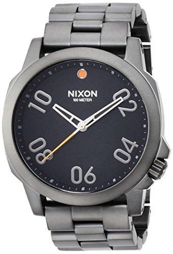 [ニクソン]NIXON RANGER 45: GUNMETAL/BLACK NA5211531-00 メンズ