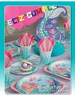 Disney Ariel la Sirenita fiesta de cumpleaños invitaciones ...