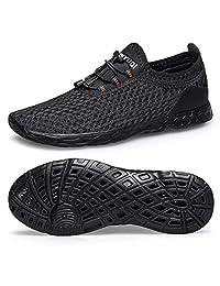 Belilent Mens Womens Aqua Water Shoes Quick Drying for Athletic Beach Sport Hiking Swim