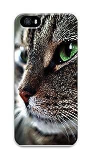 iPhone 5 5S Case Cat Face 3D Custom iPhone 5 5S Case Cover