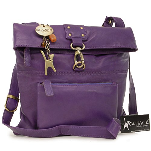 Bags Catwalk Women's Purple Dispatch Handbags Body Collection Cross pYY6qwHS