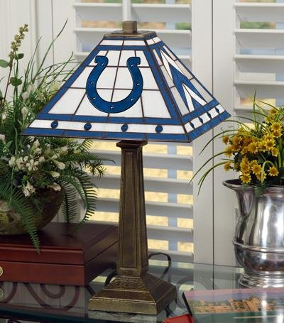 Memory Company Indianapolis Colts Mission Lamp