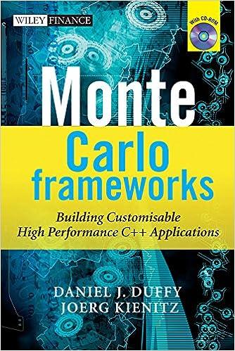 Amazon com: Monte Carlo Frameworks: Building Customisable