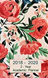 #9: 2 - Year Academic Planner 2018 - 2020: Pocket Monthly Planner : 24-Month Calendar (August 2018 - July 2020), Notes and Phone book, U.S. Holidays, Size ... 6.5