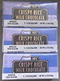 NEW (9) Trader Joe's Crispy Rice Milk Chocolate Candy Bars with Natural Vanil...