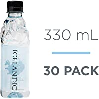Icelandic Glacial Natural Spring Alkaline Water, 330 mL (30 Count)