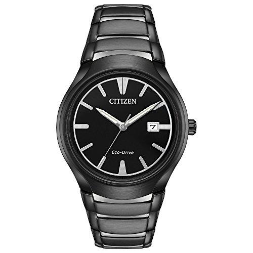 Citizen Men's 'Dress' Quartz Stainless Steel Casual Watch, Color:Two Tone (Model: AW1558-58E)