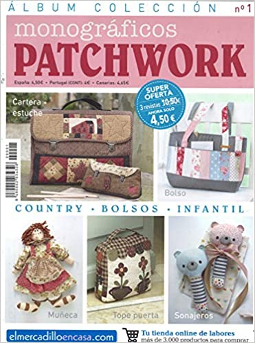 Álbum colección monograficos patchwork-1: Amazon.es: Vv.Aa, Vv.Aa: Libros