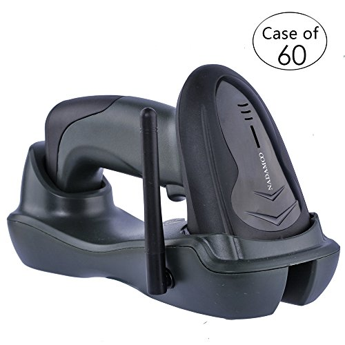 Case of 60,NADAMOO Wireless Barcode Scanner with USB Cradl