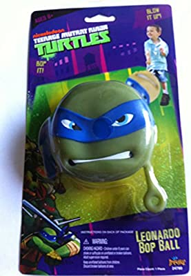 Amazon Com Teenage Mutant Ninja Turtles Leonardo Bop Ball Toys Games