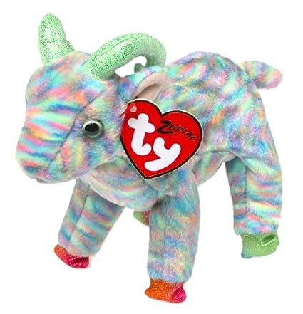 ae2d6b85f65 Amazon.com  Ty Beanie Babies - Zodiac Goat  Toys   Games