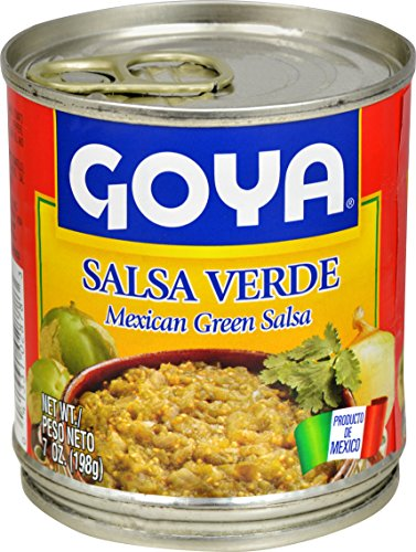 Goya Foods Salsa Verde  7 Ounce  Pack Of 24