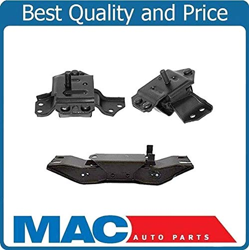 100% New Motor And Transmission Mounts Fits For Ford Mustang 3.8L 3.9L L/R 3PC 99-04
