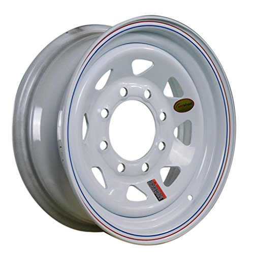 Arcwheel White Spoke Steel Trailer Wheel - 16