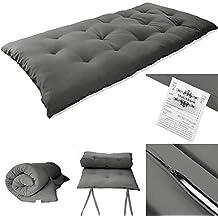 Magshion DG27 Futon Mattress, Super Single, Grey