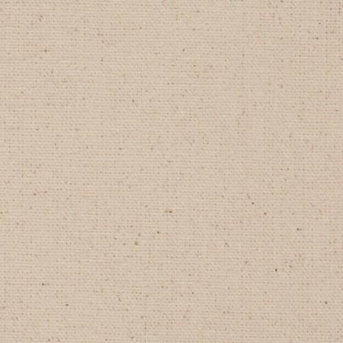 9.3 oz. Canvas Duck Natural Fabric By The Yard (Cotton Solid Upholstery)