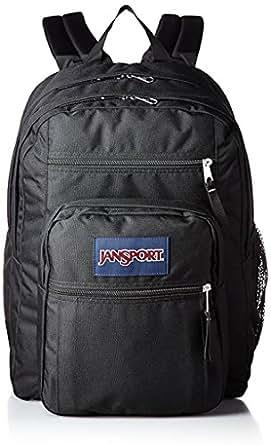 JanSport Big Student Backpack (Black on Black)