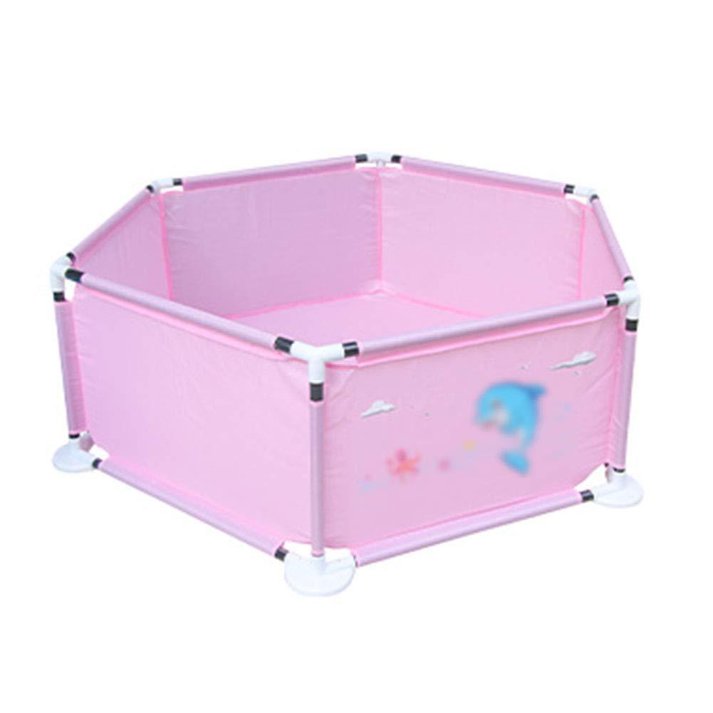 逆輸入 赤ちゃんの遊び場クロールマット :、子供のゲームのフェンスベビーセーフティ保護屋内の子供の安定したPlayard Pink B07JV9QJJM (色 : Pink) Pink B07JV9QJJM, マキノチョウ:4dedc281 --- a0267596.xsph.ru