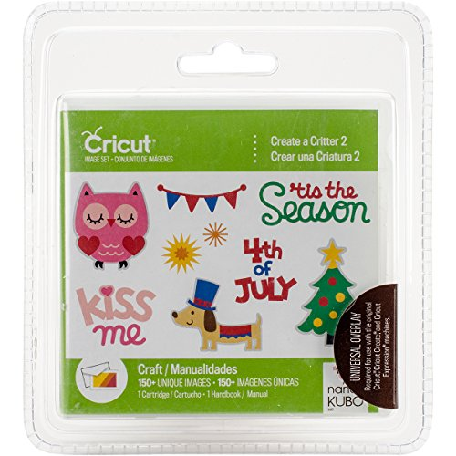 Provo Craft Cricut Shape Cartridge-Create A Critter 2 by Provo Craft