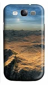 Samsung S3 case DIY Mountainous Desert 3D cover custom Samsung S3 WANGJING JINDA