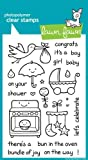 Plus One Clear Stamp Set (Lawn Fawn)