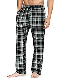 Mens Cotton Flannel Lounge Pajama Pants