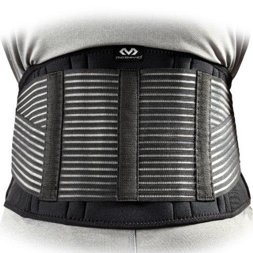 McDavid New Back Support Universal Black Medium