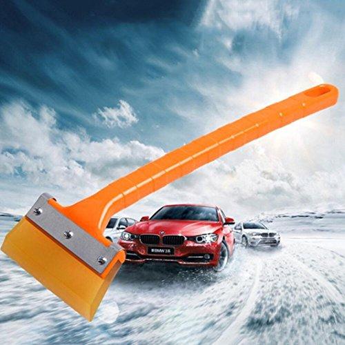 Ecosin New Style Car Auto vehicle Snow Ice Scraper Snowbrush Shovel Removal Brush Winter Tool