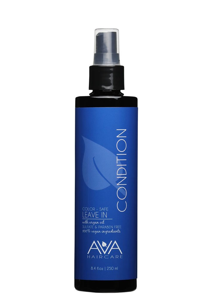 Ava Haircare - Leave-in Conditioner - Vegan, Sulphate Free, Paraben Free, Cruelty Free - Moisturizing Conditioner (8.4oz)