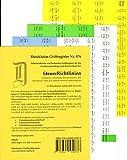 SteuerRichtlinien Griffregister Nr. 876 (2016/2017): 196 selbstklebende und farbig bedruckte Griffregister für SteuerRichtlinien