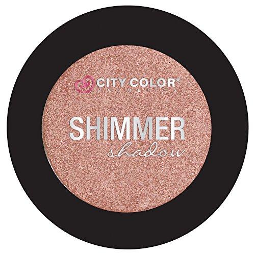 City Color Cosmetics Metallic Shimmer Eyeshadow   Vibrant, Bold, Beautiful Pigmented Makeup (Bubble Bath)