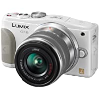 Panasonic Lumix DMC-GF6 Mirrorless Micro Four Thirds Digital Camera with 14-42mm f/3.5-5.6 II Lens (White) (International Model)