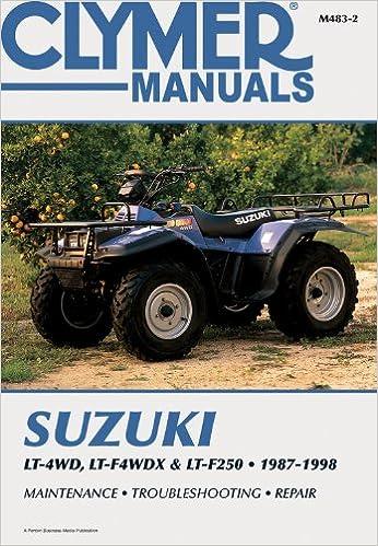 repair manual suzuki quad king 300