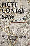 Mutt Contay Saw, Allen Ouellette, 0595371795