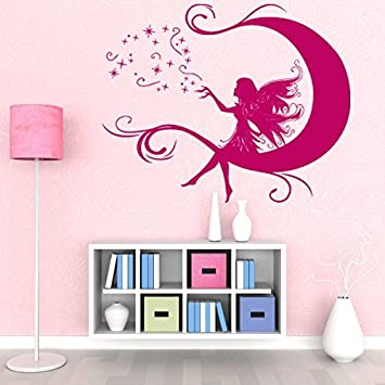 Moon Fairy Wall Decal By Style U0026 Apply   Wall Decal For Kids, Girls Room Part 64