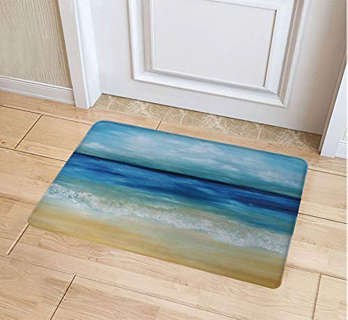 - JYDIY 3D Printing Doormat, Decorative Polyester Floor Mat with Non-Skid Backing, 18W X 30L Inches Entry Carpet