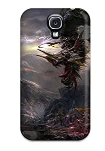 Hot Tpye Dragon Case Cover For Galaxy S4