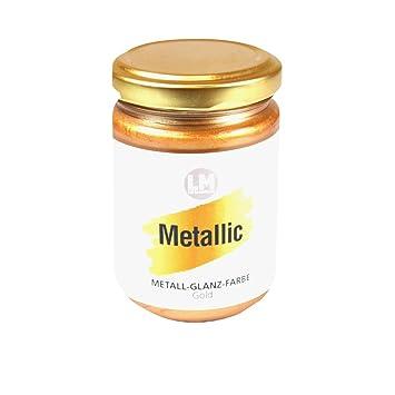 Metallic 125ml (Gold) - - - Metallic Farbe, Metallglanz, Metall ...