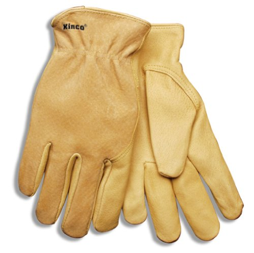 Pigskin Grain - Kinco® Premium Grain Pigskin Drivers Gloves (Men's XXL)
