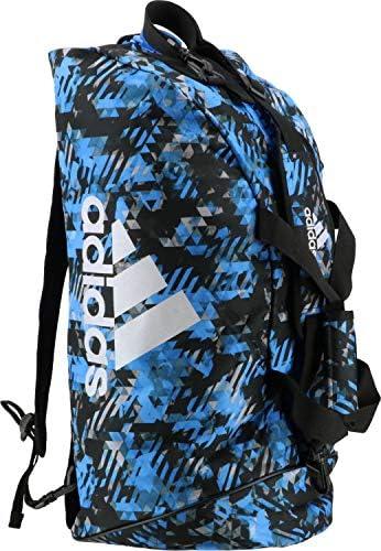 アディダス コンバットスポーツ 2in1 Bag adiACC058 Blue Camo/Silver 65L