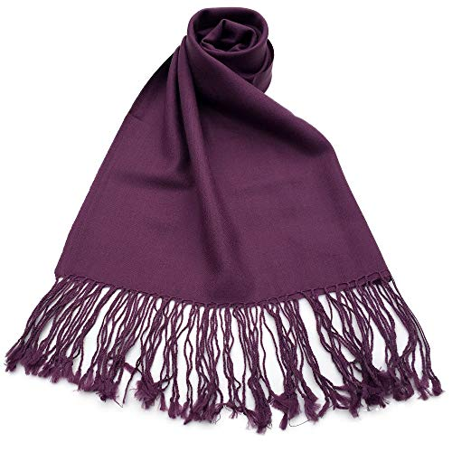 NEW COLORS Women's Pashmina Plain Merino Wool 100% for sale  Delivered anywhere in USA