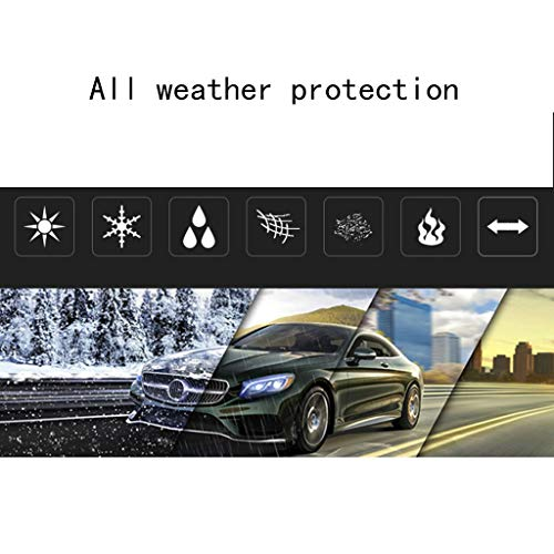 Can Adapt to All Kinds of Weather LLHGYY Car Covers Compatible with Mercedes-AMG Class S AMG Color : A, Size : 2010 AMG S 65 Thick and Cotton Velvet Hood