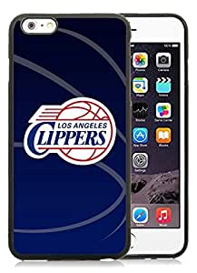 New Custom Design Cover Case For iPhone 6 Plus 5.5 Inch Clippers 11 Black Phone Case