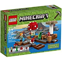 LEGO Minecraft The Mushroom Island 21129 Building Kit...
